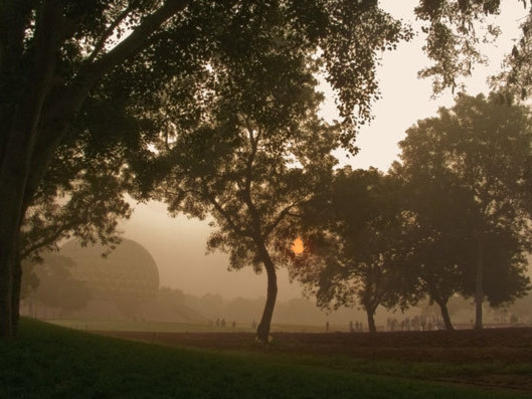 Photographer:web - www.auroville.rog | Matrimandir
