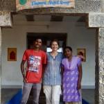 Prabha, Bridget and Savitri