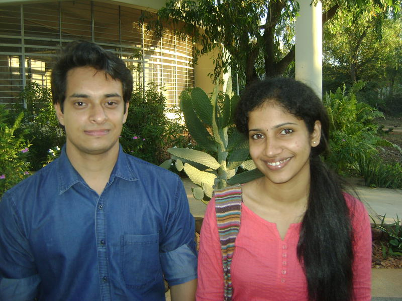 Photographer:Stephen | Biswajit and Gayathry (Visitors at Auroville)