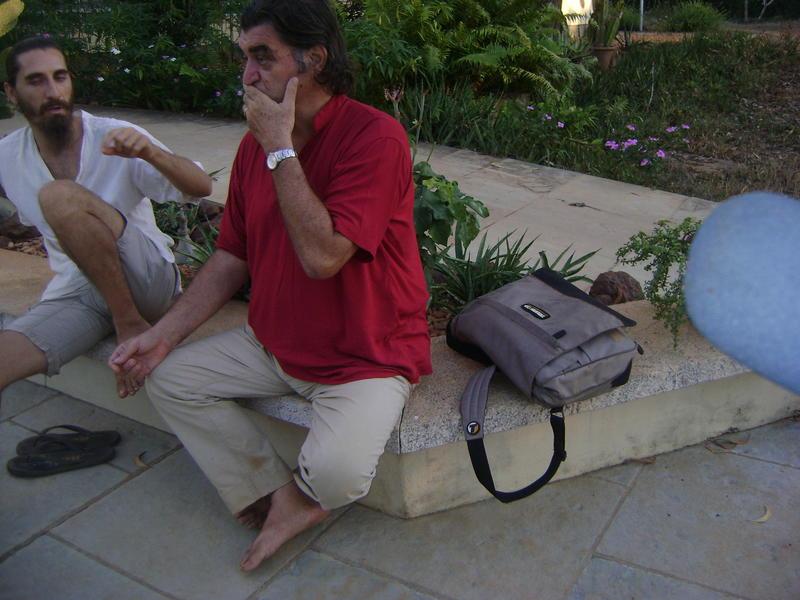 Photographer:Bishwajit   Mr. Luigi at International Zone meeting