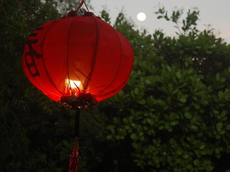 Photographer:Frida | Korean, Japanese and Chinese celebrated the Full Moon
