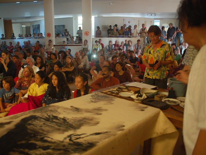 Photographer:Frida | Live Painting from a Chinese guest