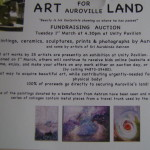 Acres for Auroville art auction