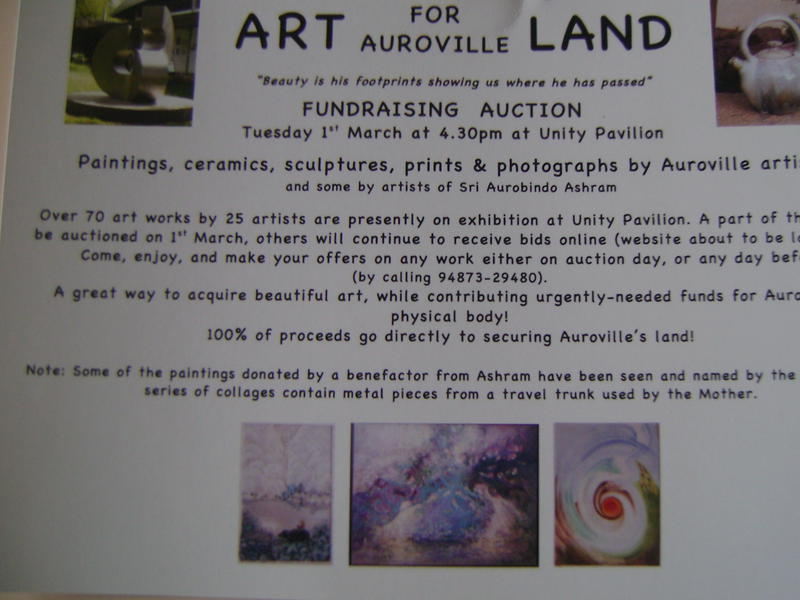 Photographer:web | Acres for Auroville art auction