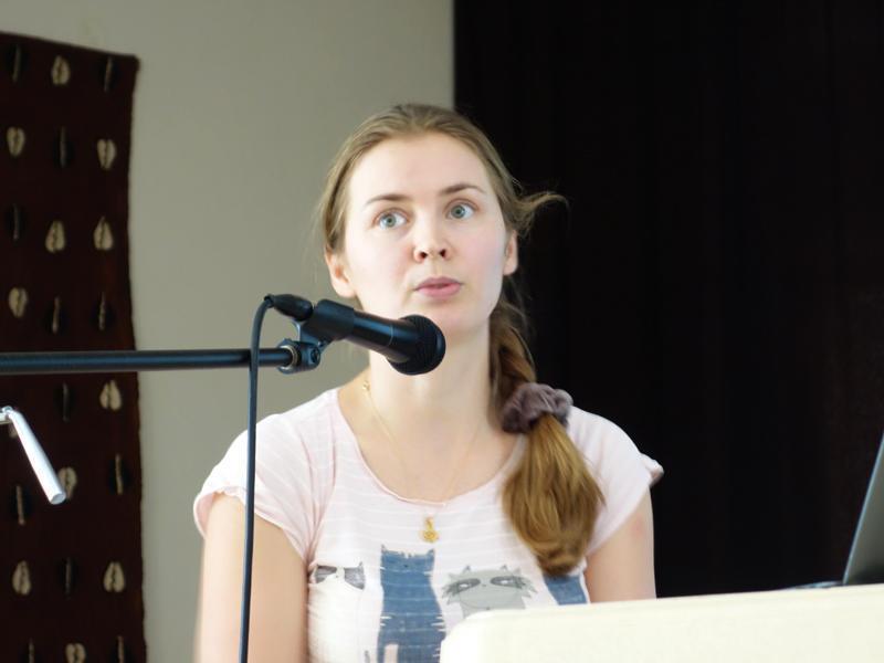 Photographer:The | Natalia Pavlovskaya' s presentation