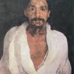 Painting of Sri Aurobindo by J. Hohlenberg