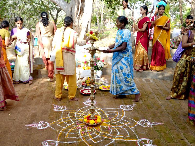 Photographer:The Unstitute   Homage to Saint Tyagaraja