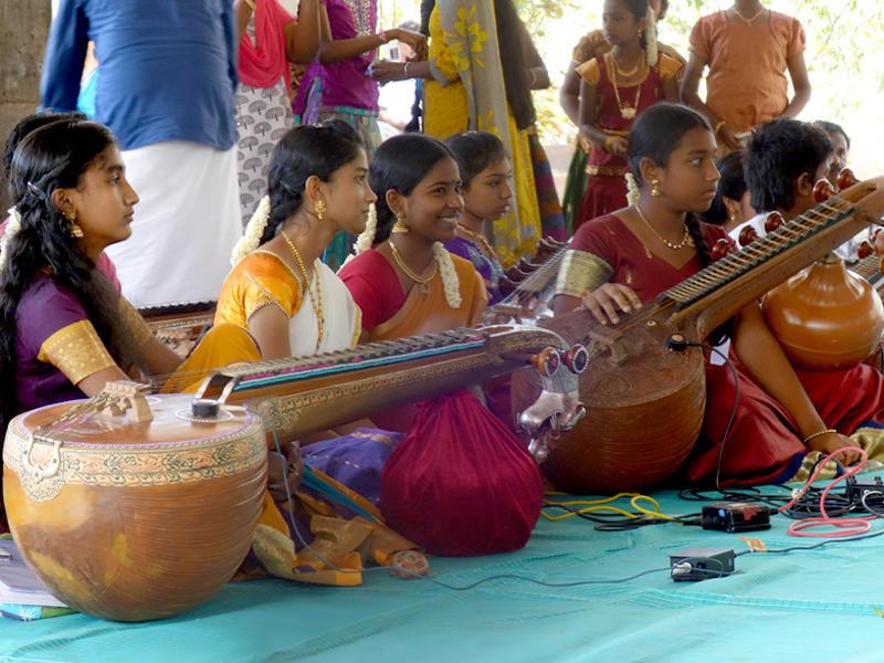 Photographer:The Unstitute | Homage to Saint Tyagaraja performance