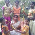 Women's Dance group with their Master, Deepa