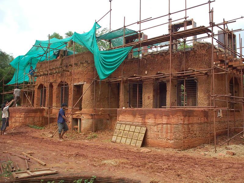 Photographer:Frida | The main construction site: Ecological Moodhouse (Nov)