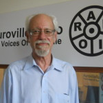 David Stein at Auroville Radio