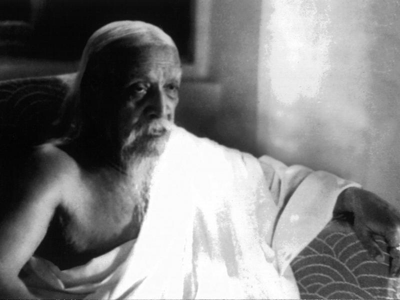 Photographer:Cartier Bresson | Sri Aurobindo - April 23, 1950