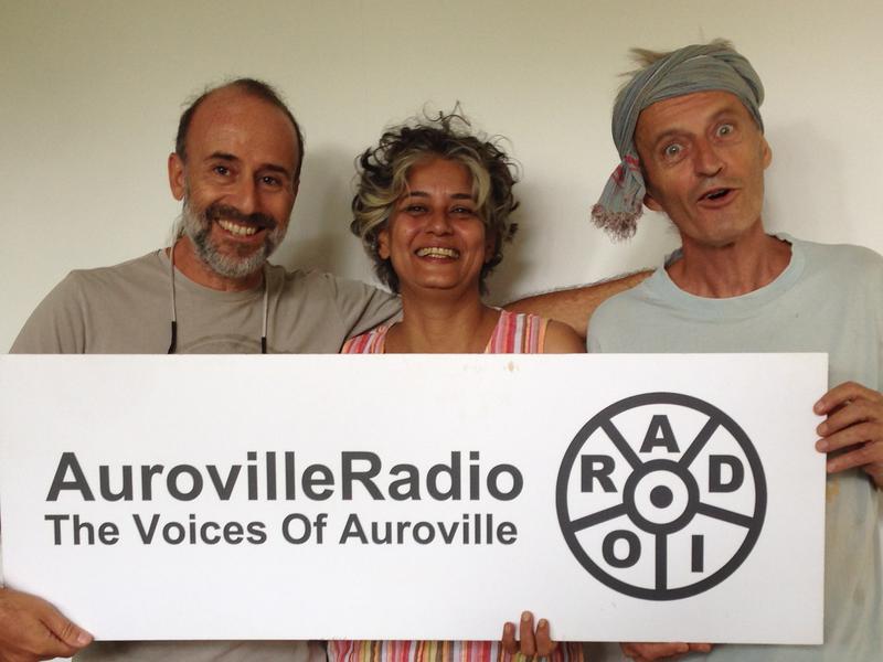 Photographer:Auroville Radio | Off the Cuff Andrea, Renu and Wazo
