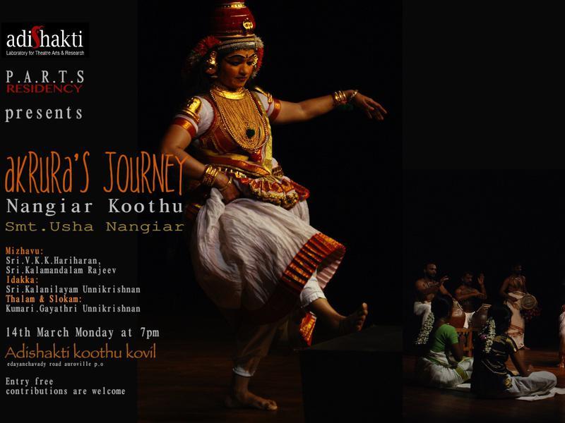 Photographer:Adishakti   Nangiar Koothu performance by Smt. Usha