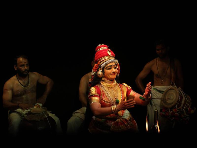 Photographer:Adishakti   Majestic moves by Smt. Usha