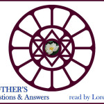 Sri Aurobindo's Symbol In Mother's Symbol - Designed By Mother
