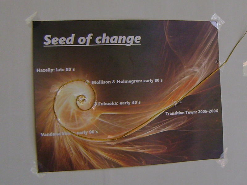 Photographer:Zala | Permaculture exhibition at Town Hall