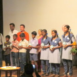 School students who participated in the Water Festival 2016