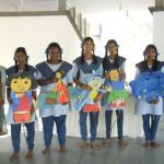 Girls Government School students, Pondicherry