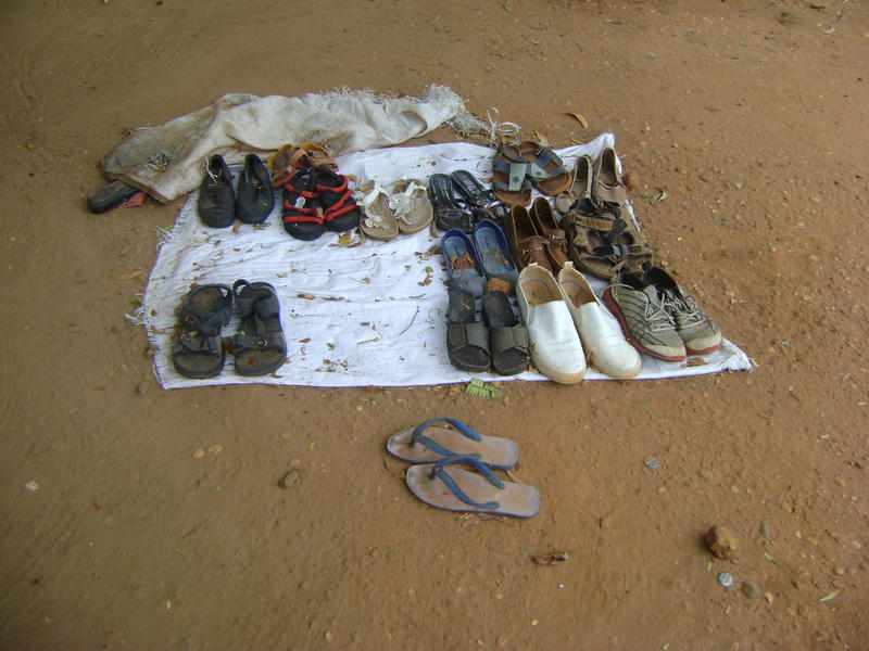 Photographer:Renu | Shoes off!!