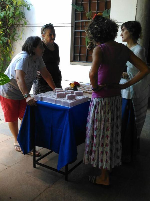 Photographer:renu | arranging the hand-made soaps