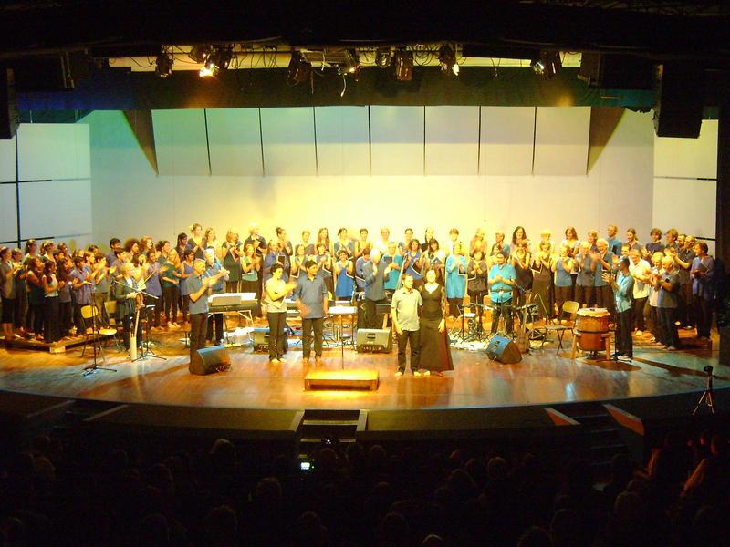 Photographer:Ghea   Auroville Choir, Youth Choir ,  Instrumental Ensemble - The Peacemakers