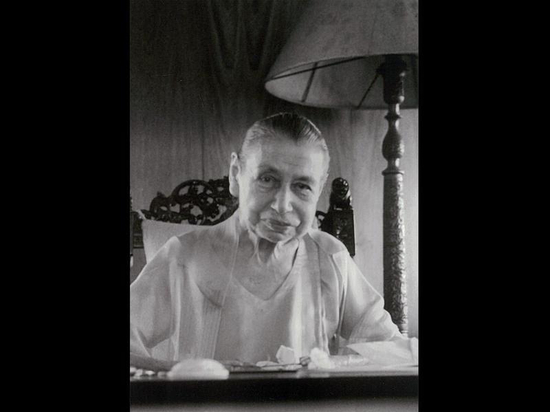 Photographer:Ashram Archives | Mother - 15/8/64