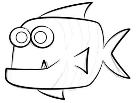 Photographer:http://www.how-to-draw-funny-cartoons.com | The discourse of the fish