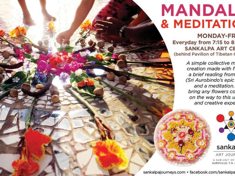 Photographer:web | Mantra Meditation at Sankalpa at 7.15am