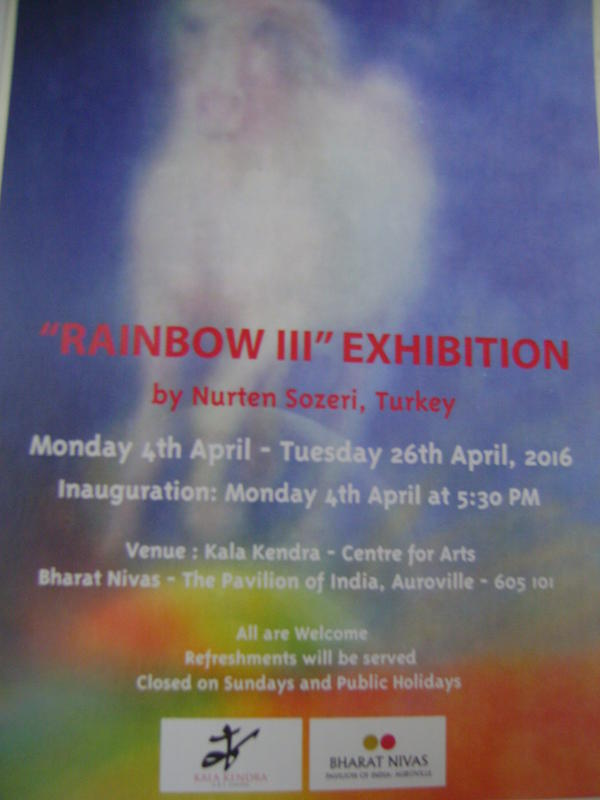 Photographer:web | Rainbow III inauguration of exhibition at Kala Kendra today