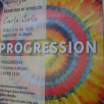 Carla Sello's  Progression on display at Citadine