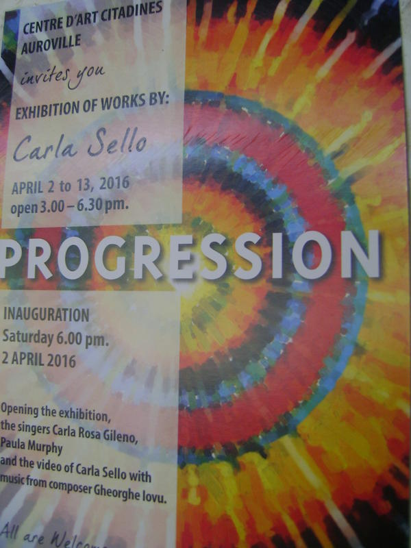 Photographer:web | Carla Sello's  Progression on display at Citadine