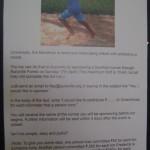 Sunday at 5pm  Certitude 10k barefoot run