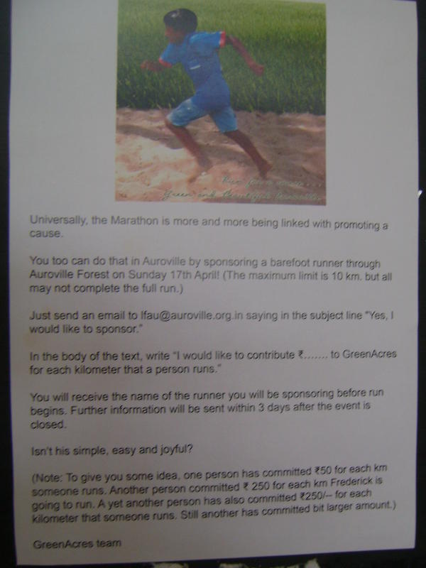 Photographer:web | Sunday at 5pm  Certitude 10k barefoot run
