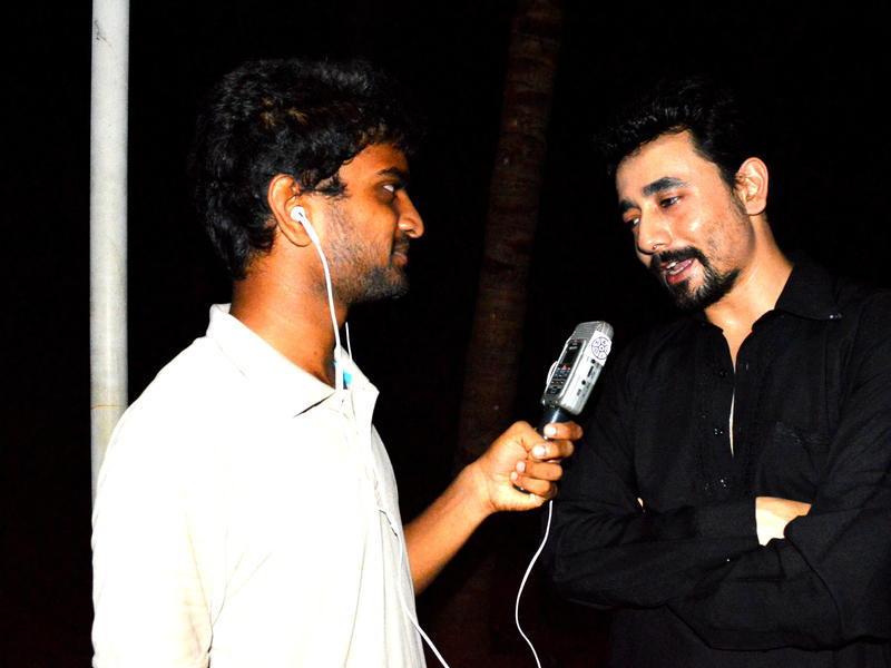 Photographer:David Dinakaran   Stephen Anurag interviews RJ Mantra