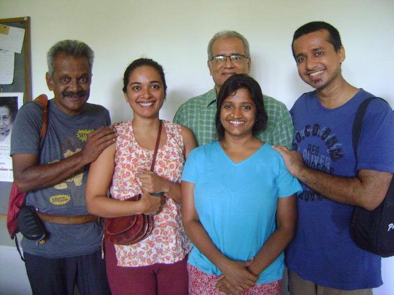Photographer:Alma   Adishkati team - Arvind , Ashika, Bindu, Vedanth, and Rajiv behind