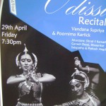 Odissi Dance Perfomance at 7.30pm