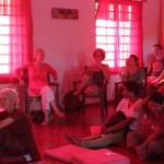 volunteers at meeting