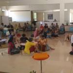Planning workshop at unity pavilion