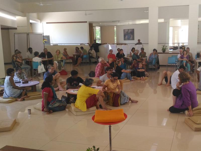 Photographer:Renu | Planning workshop at unity pavilion