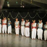 Indian traditional dance group