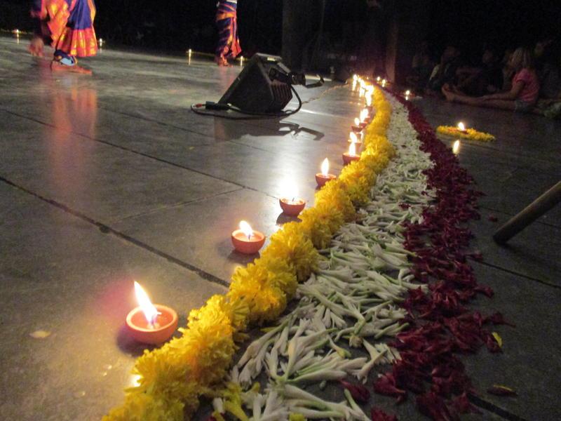 Photographer:Stephen Anurag P | Traditional lightings across the stage