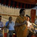 Meenakshi addresing the gathering