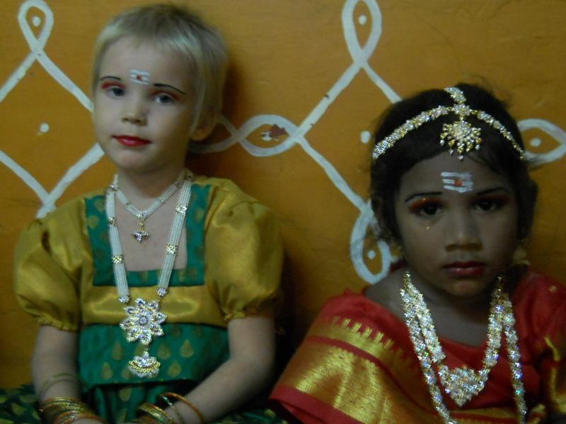 Photographer:chethan | children at school