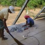 summer repairs at Town Hall