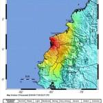 Earthquake on 16th of April, magnitude 7,8