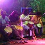 African drumming jam for start