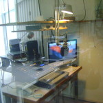 enlarged space for almost 3 square m of the studio