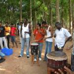 <b>Dance to Djembe drums</b>