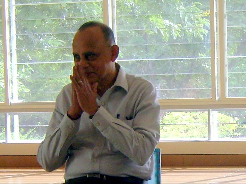 Photographer:Tahereh   Mr  Mohan Verghese Chunkath I.A.S.  a new Secretary of AV Foundation